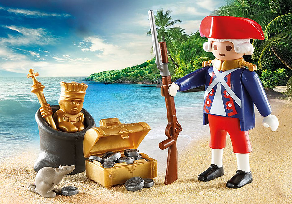 9102 Valisette Pirate et Soldat detail image 3