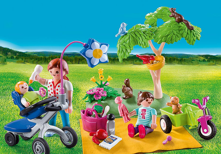 http://media.playmobil.com/i/playmobil/9103_product_detail/Maxi Βαλιτσάκι Πικ-νικ στην εξοχή