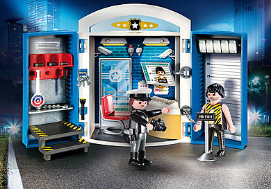 9111 Police Station Play Box