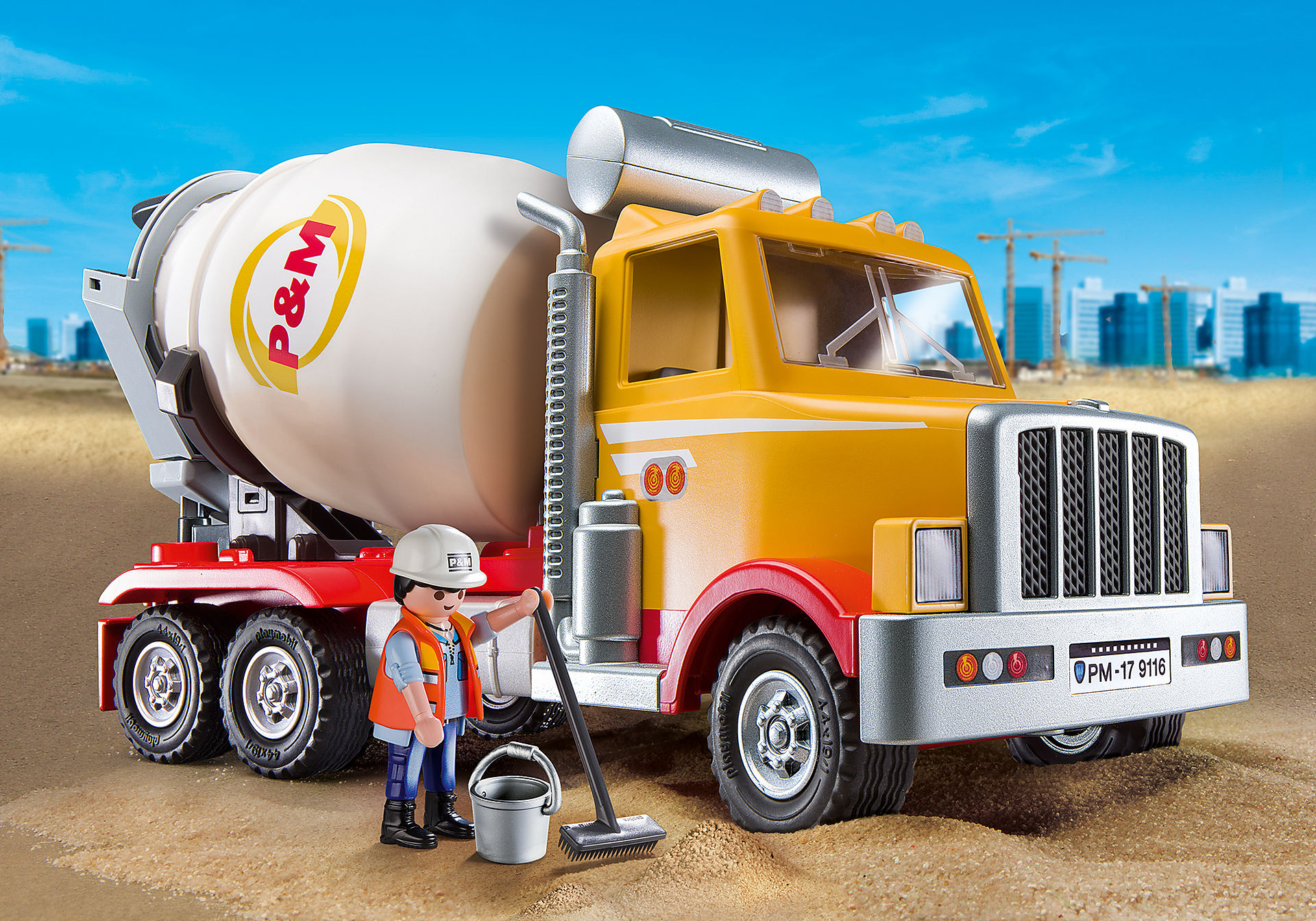9116 Cement Truck zoom image1