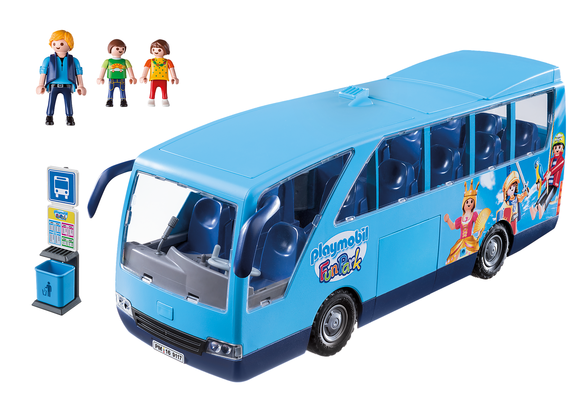 9117 PLAYMOBIL-FunPark Bus zoom image3
