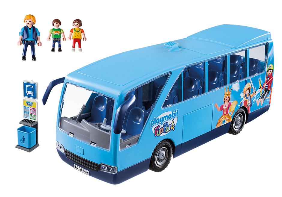 9117 PLAYMOBIL-FunPark Bus detail image 3