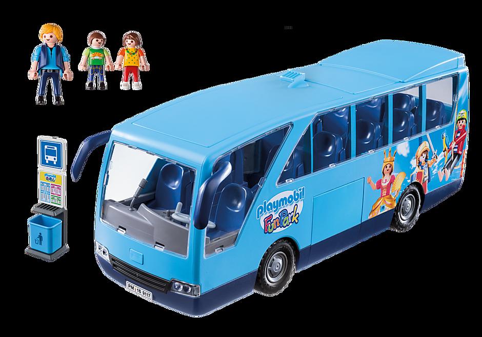 9117 PLAYMOBIL-FunPark skolebus detail image 3