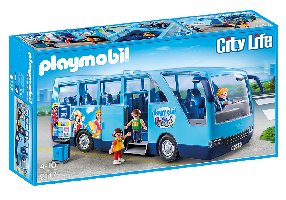 9117 PLAYMOBIL-FunPark Bus detail image 2
