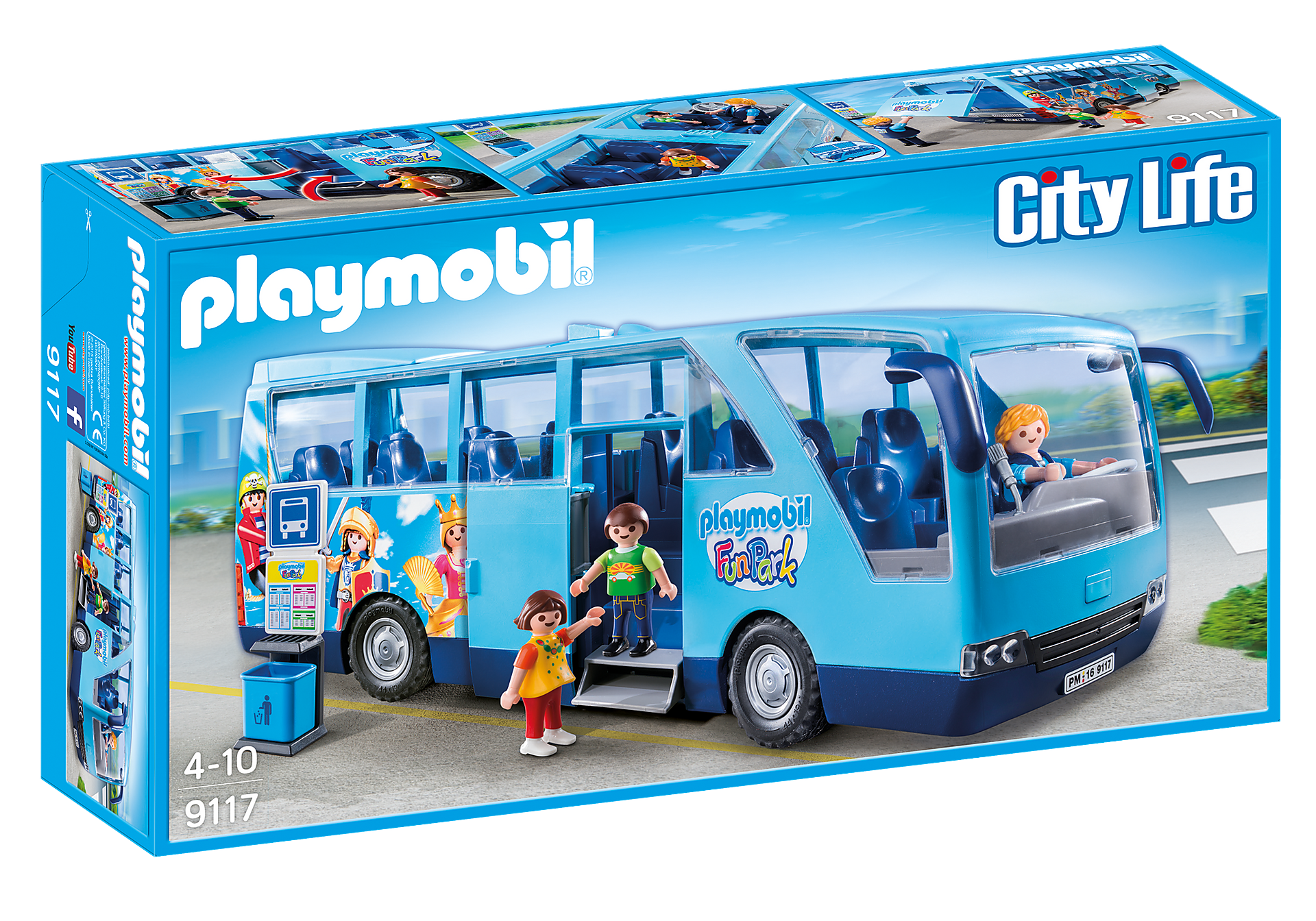 9117 PLAYMOBIL-FunPark Bus zoom image2