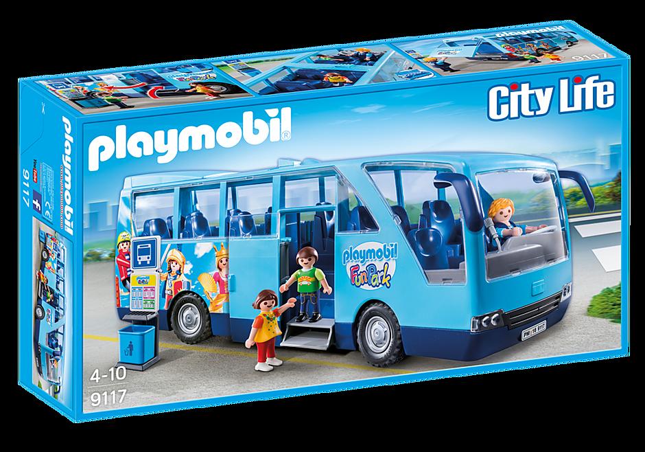 9117 PLAYMOBIL-FunPark skolebus detail image 2