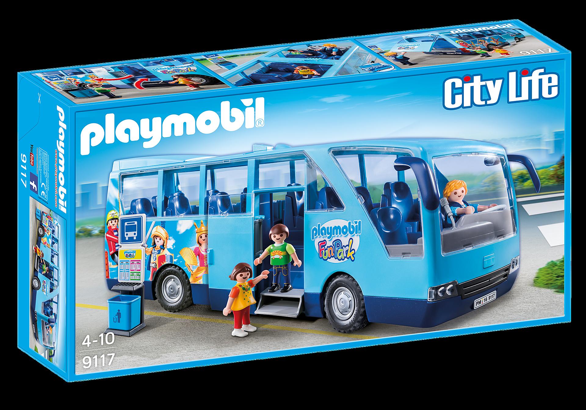 9117 PLAYMOBIL-FunPark skolebus zoom image2
