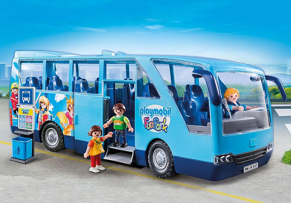 9117 PLAYMOBIL-FunPark skolebus detail image 1