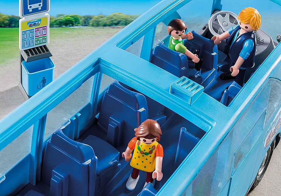 9117 PLAYMOBIL-FunPark Bus detail image 5