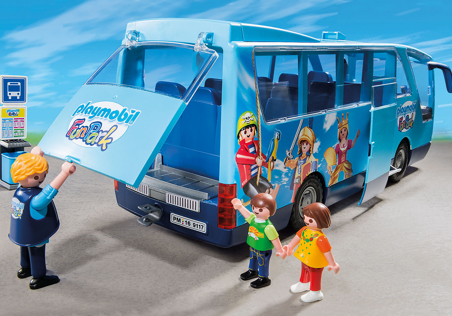 9117 PLAYMOBIL-FunPark Bus navetta zoom image6