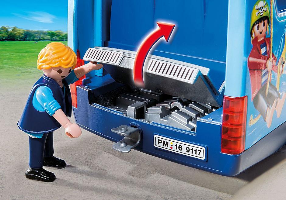 9117 PLAYMOBIL FunPark Bus detail image 7