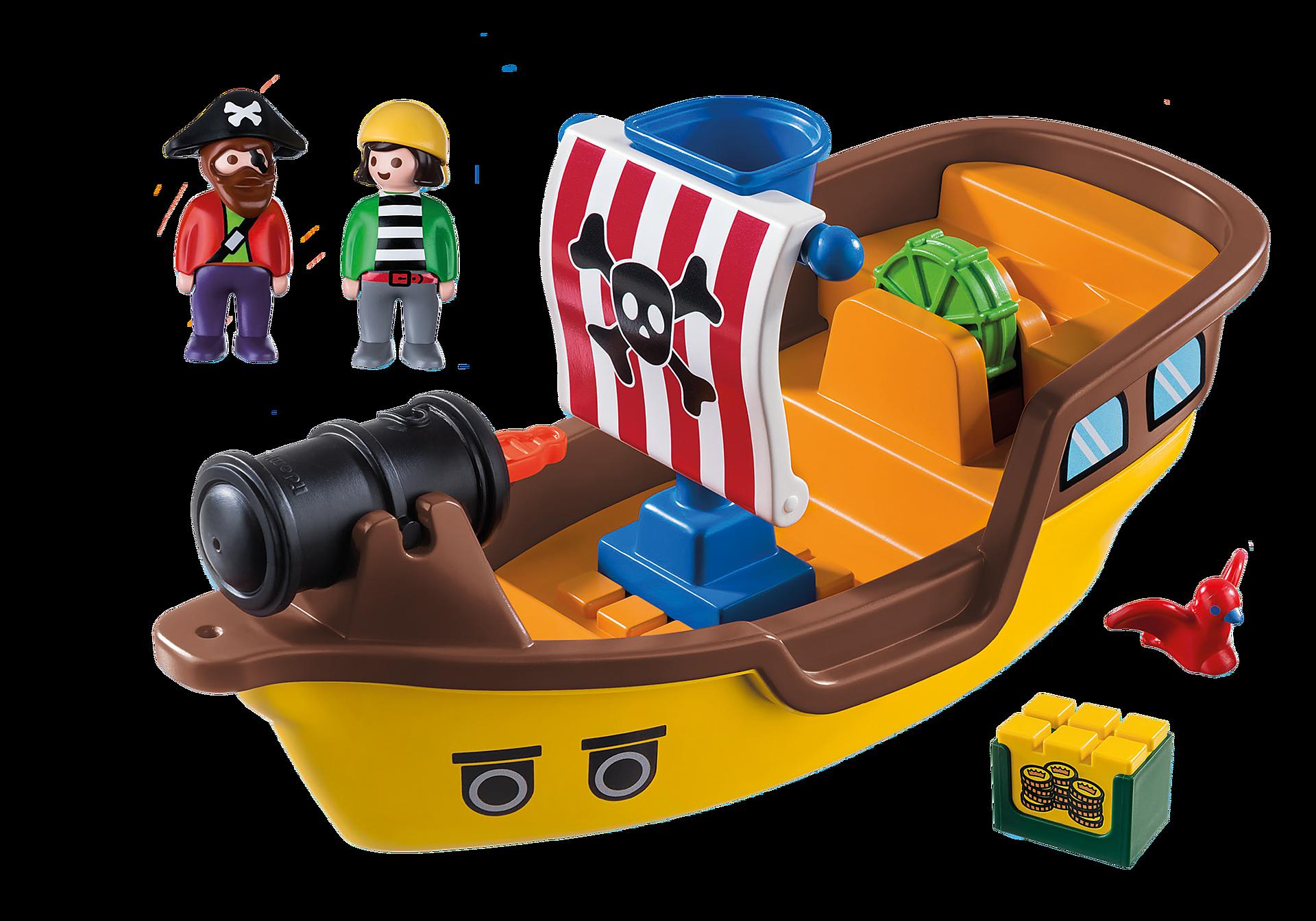 9118 1.2.3 Piratenschip  zoom image4