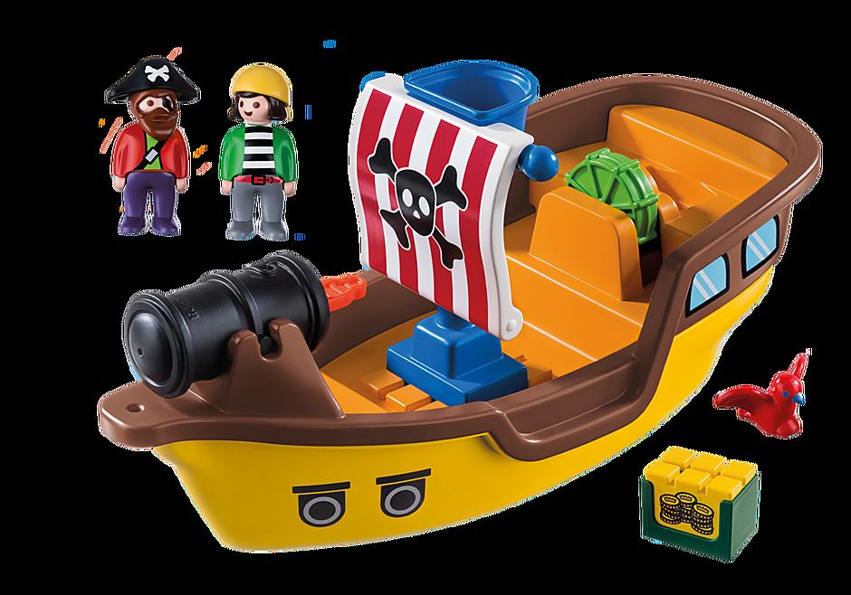 9118 Bateau de pirates detail image 4