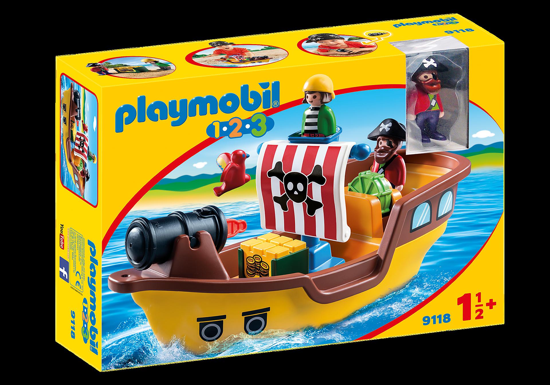 9118 1.2.3 Barco Pirata zoom image3