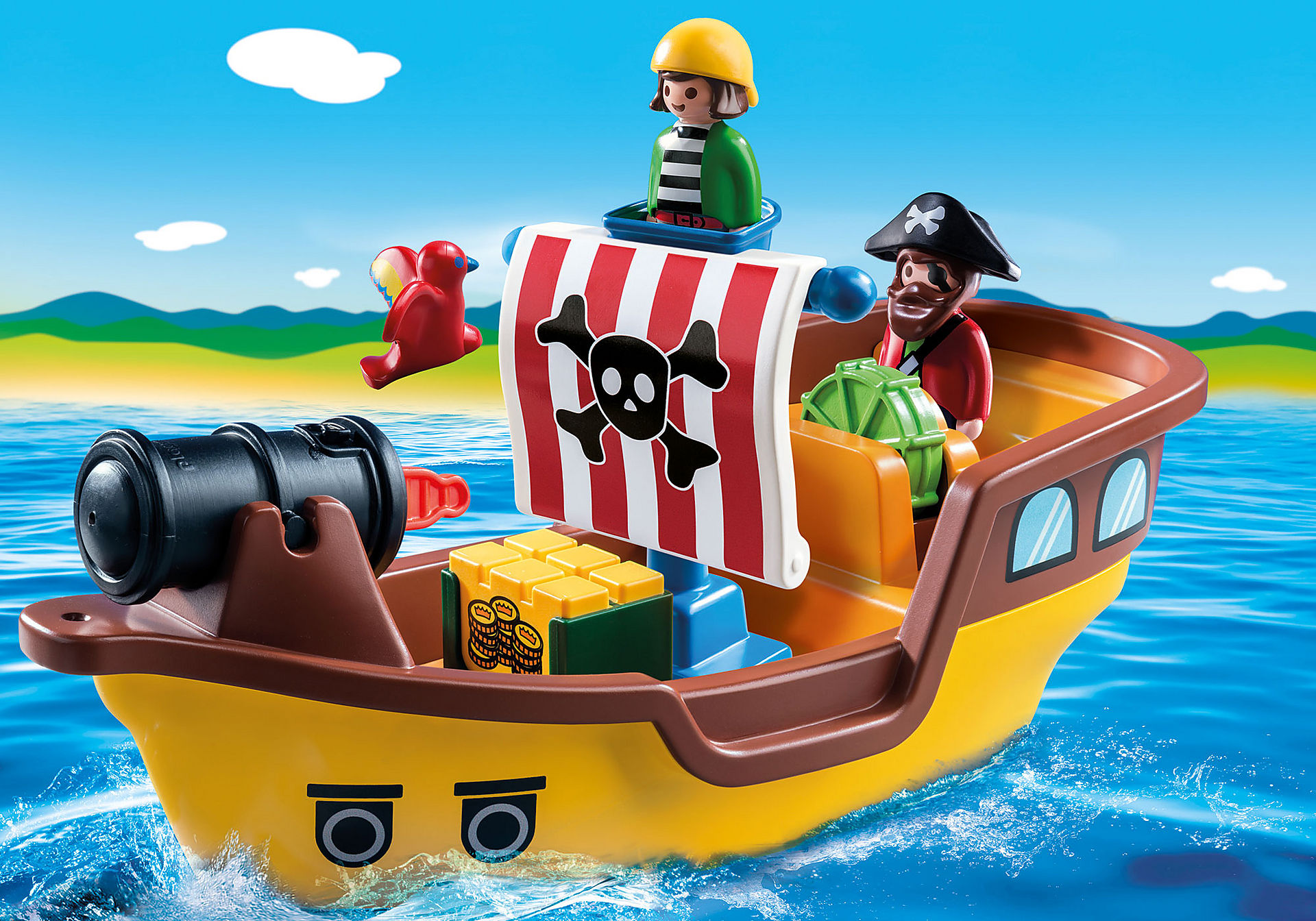 9118 1.2.3 Barco Pirata zoom image1
