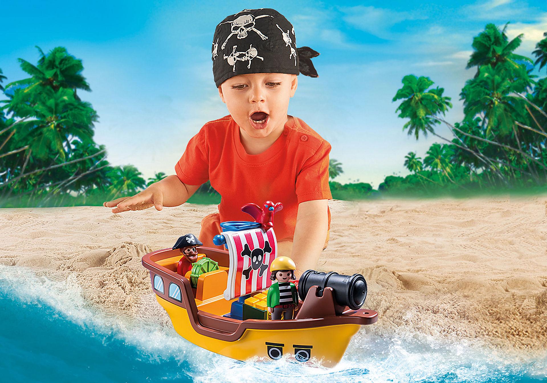 9118 1.2.3 Barco Pirata  zoom image6
