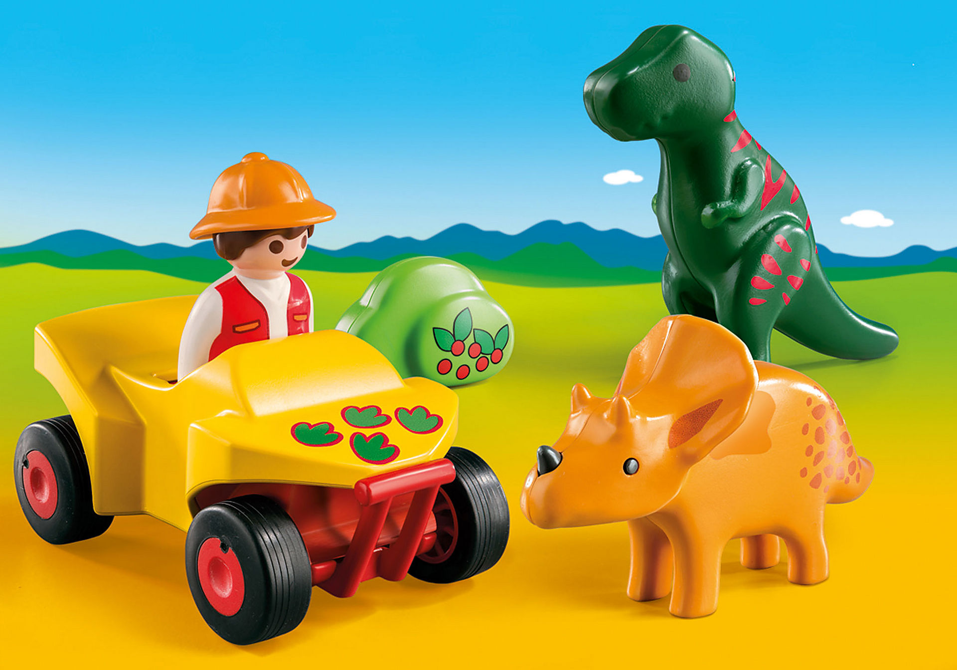 http://media.playmobil.com/i/playmobil/9120_product_detail/1.2.3 Quad con 2 Dinos