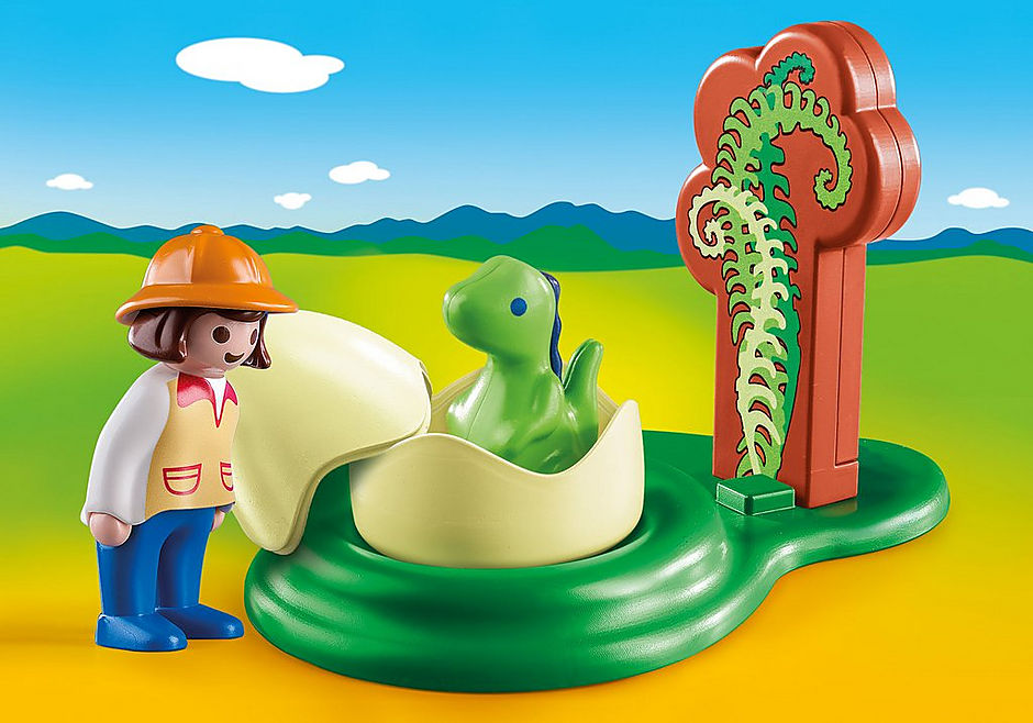9121 Dino-Baby im Ei detail image 1