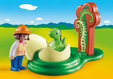 Playmobil Girl With Dino Egg 9121
