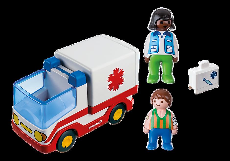 9122 Rescue Ambulance detail image 4
