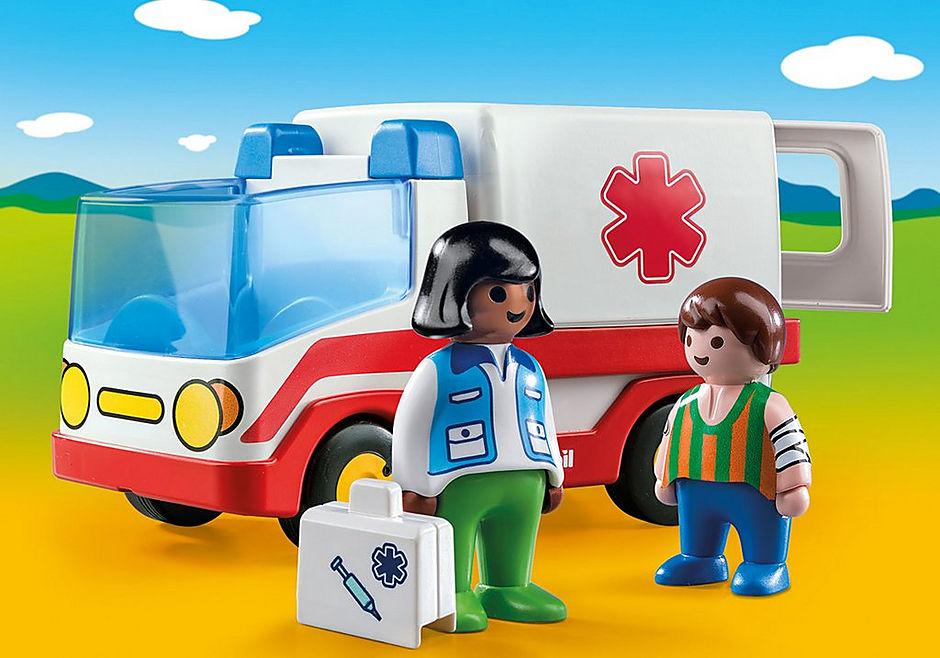 9122 Rescue Ambulance detail image 1