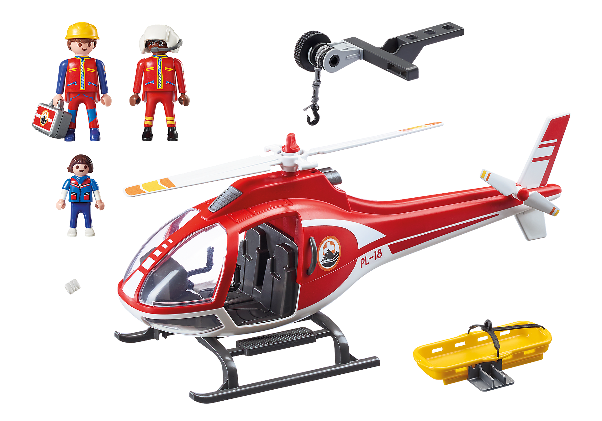 9127 Helicóptero de Rescate de Montaña zoom image4