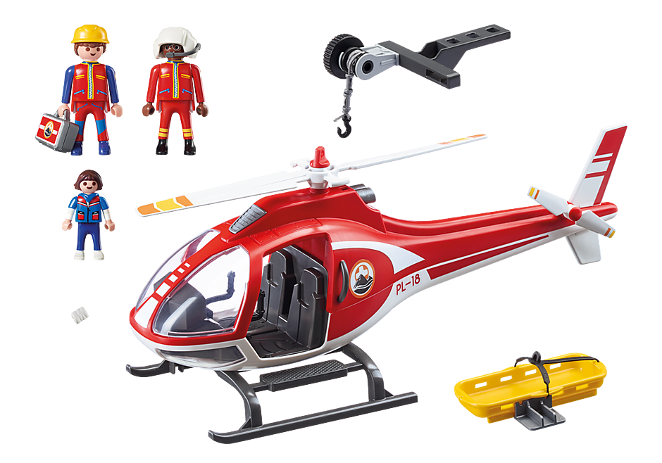 9127 Helicóptero de Resgate de Montanha detail image 4