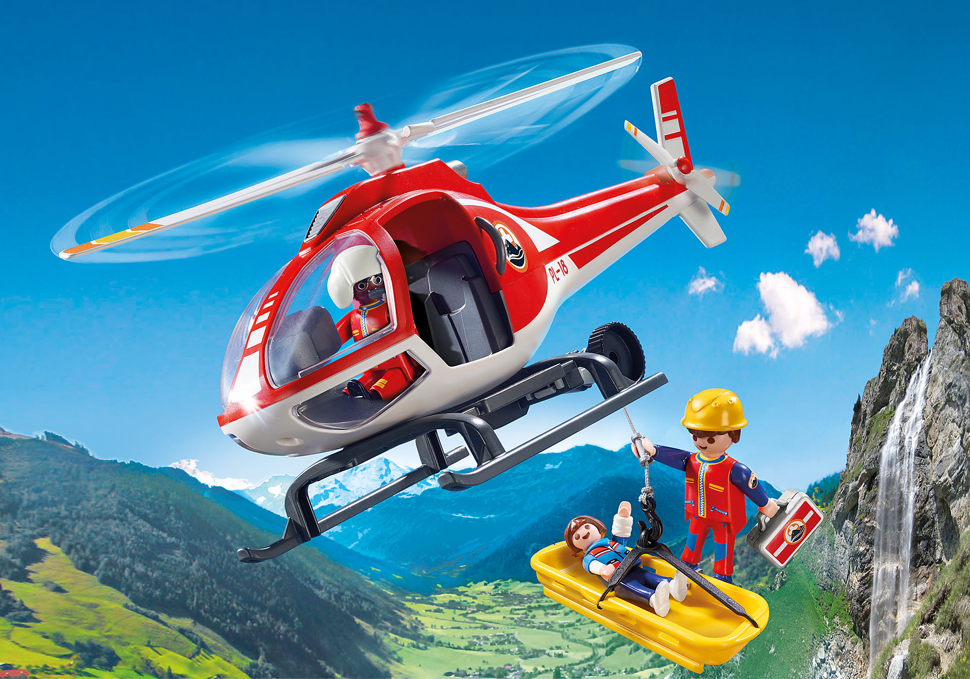 9127 Elicottero soccorso alpino zoom image1