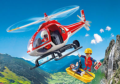 9127_product_detail/Reddingswerkers met helikopter