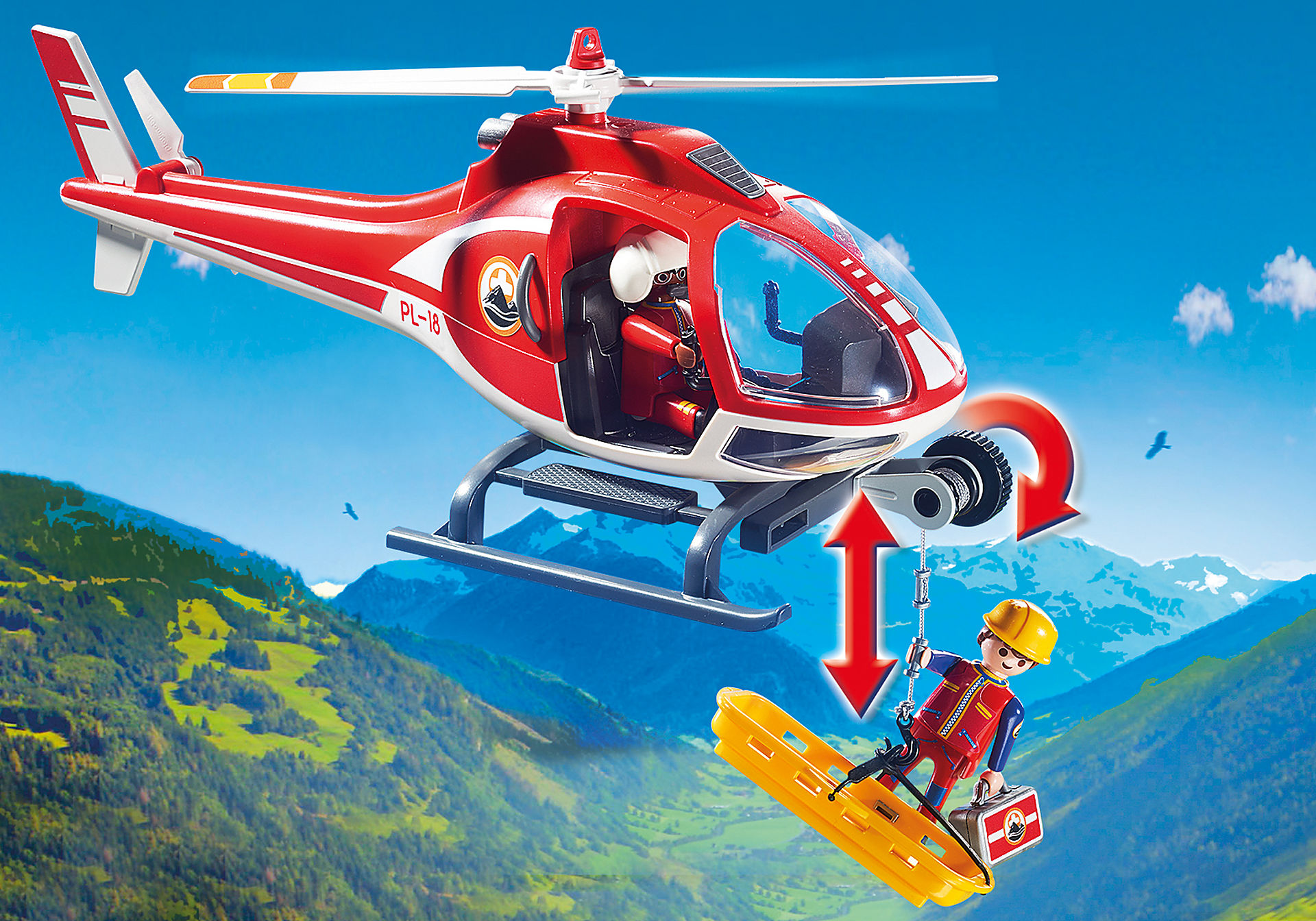 9127 Bergretter-Helikopter zoom image5