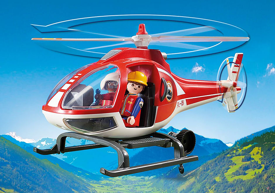 9127 Helicóptero de Rescate de Montaña detail image 6