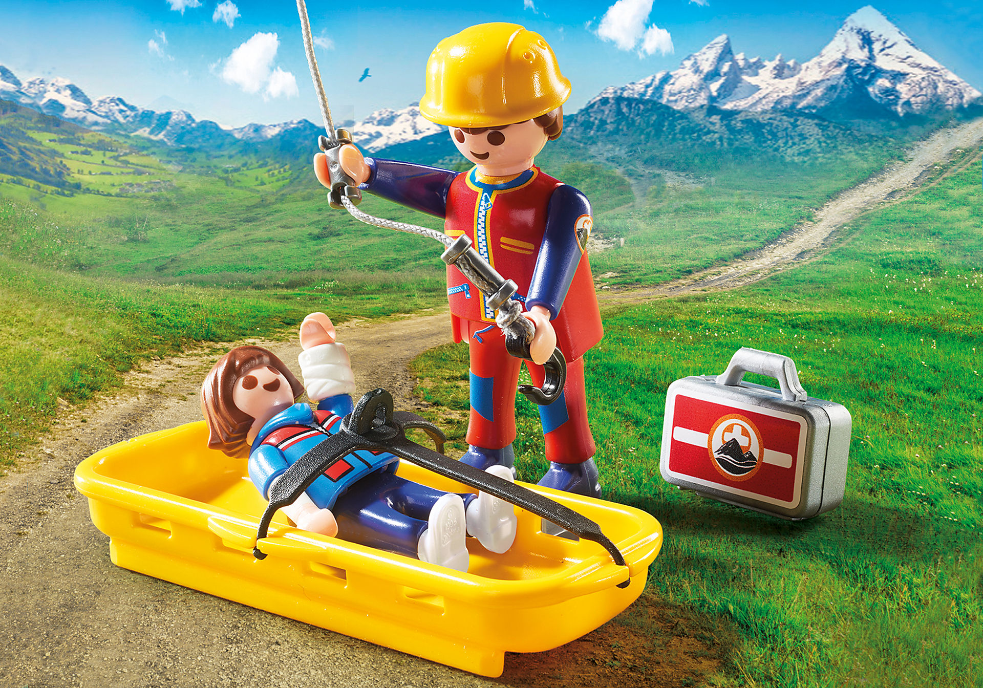 http://media.playmobil.com/i/playmobil/9127_product_extra3/Mountain Rescue Helicopter