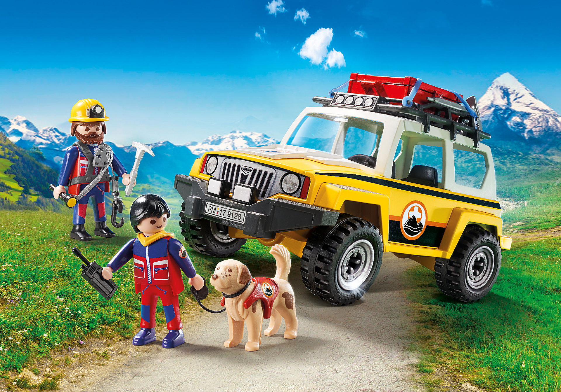 9128 Vehículo de Rescate de Montaña  zoom image1