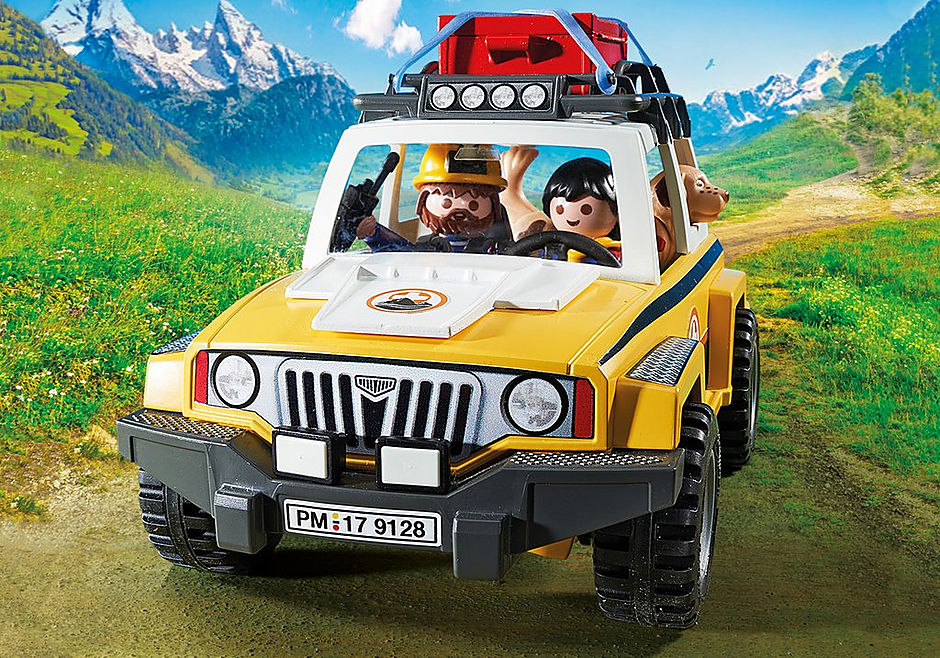 9128 Secouristes des montagnes avec véhicule  detail image 6