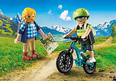 9129 Ποδηλάτης και ορειβάτης