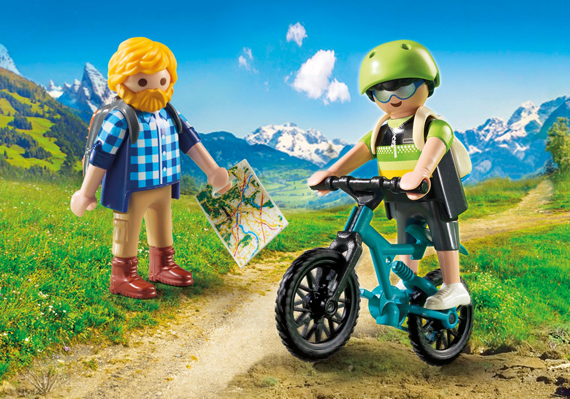 http://media.playmobil.com/i/playmobil/9129_product_detail/Randonneur et cycliste