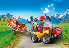 Playmobil Mountain Rescue Quad 9130