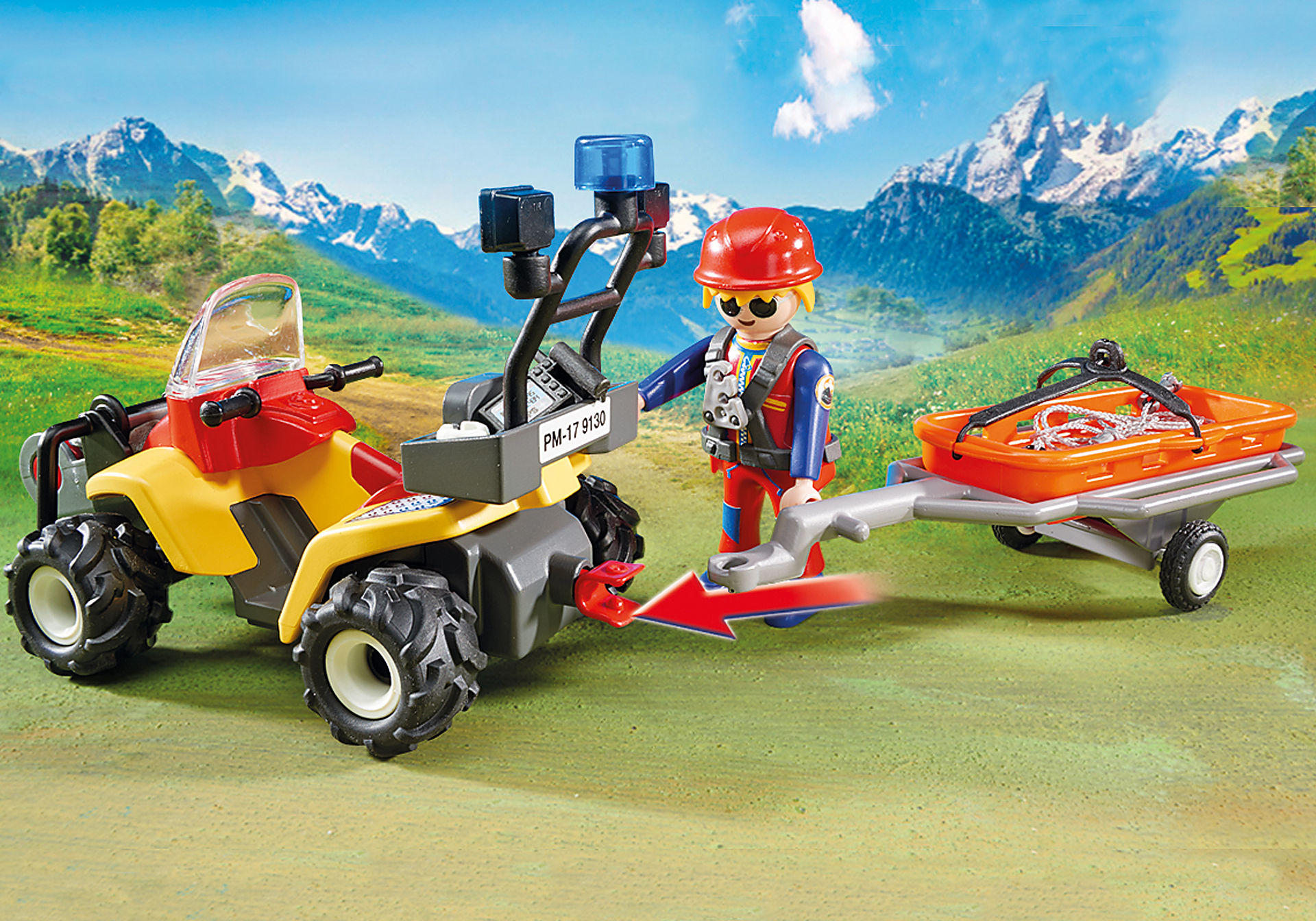 9130 Mountain Rescue Quad zoom image6