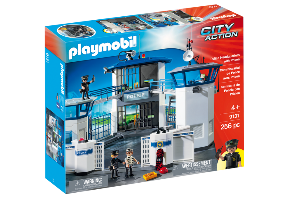 Police Headquarters With Prison 9131 Playmobil Usa