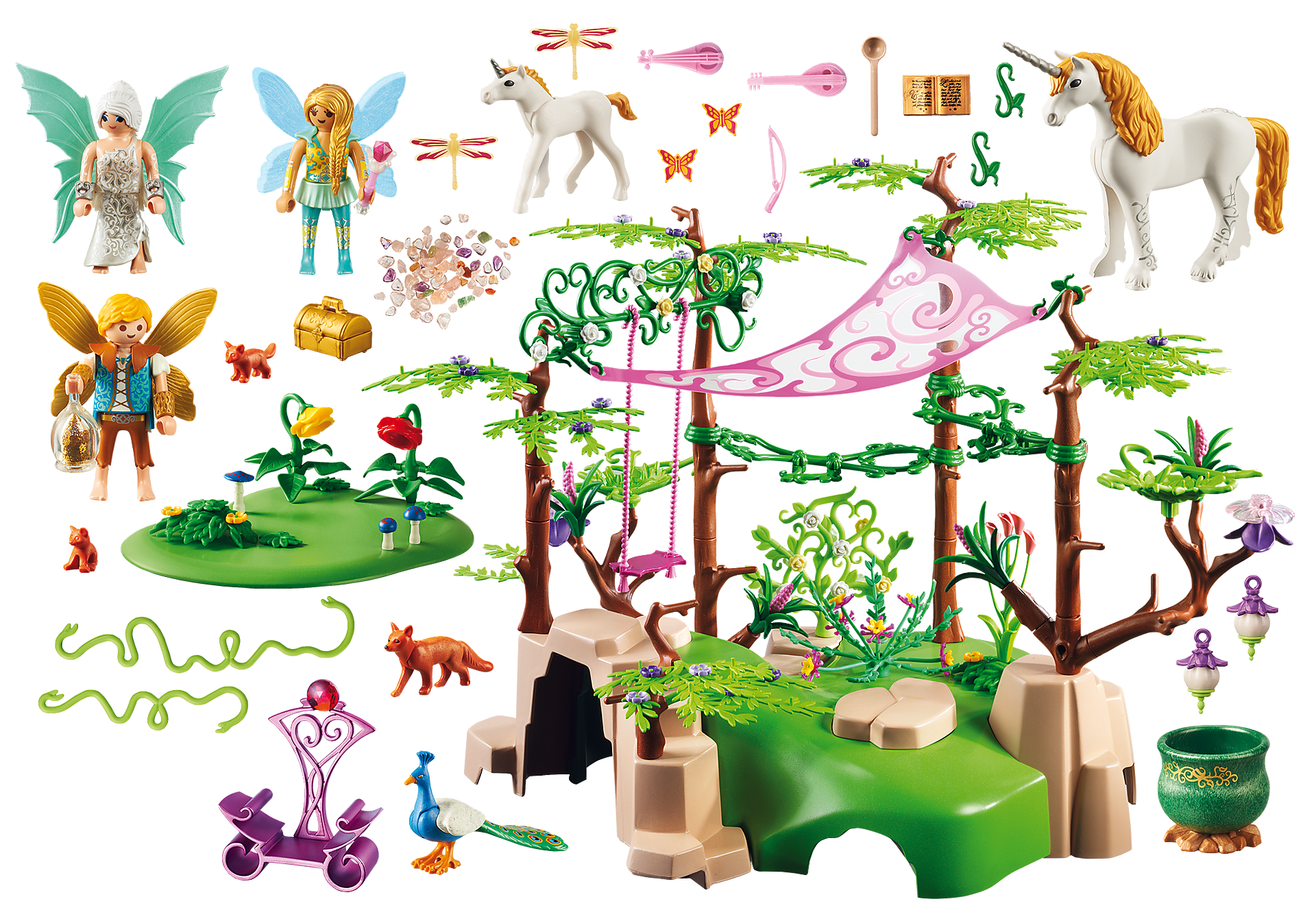 http://media.playmobil.com/i/playmobil/9132_product_box_back/Magical Fairy Forest