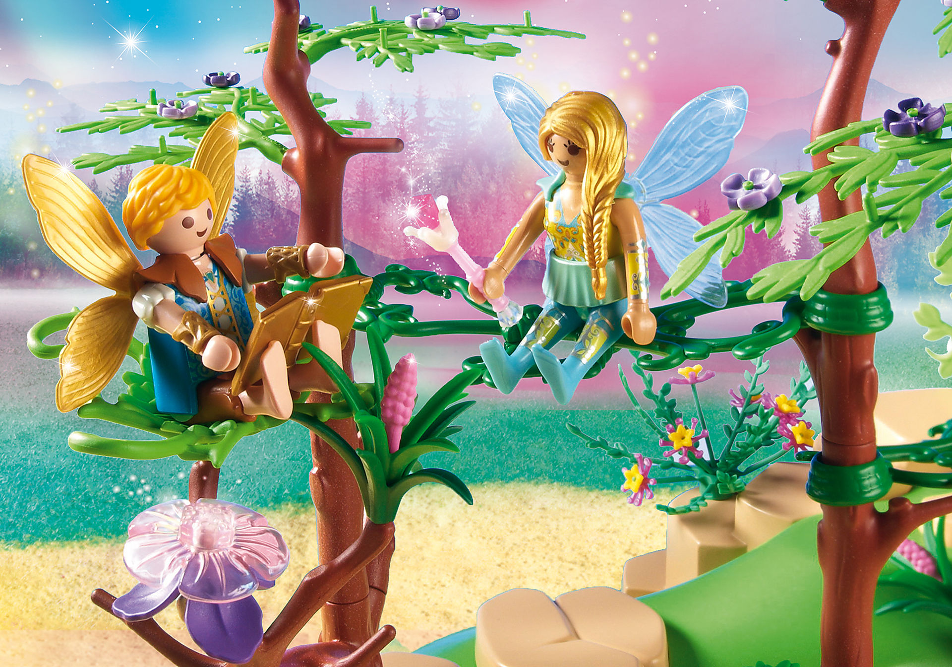 http://media.playmobil.com/i/playmobil/9132_product_extra1/Magical Fairy Forest