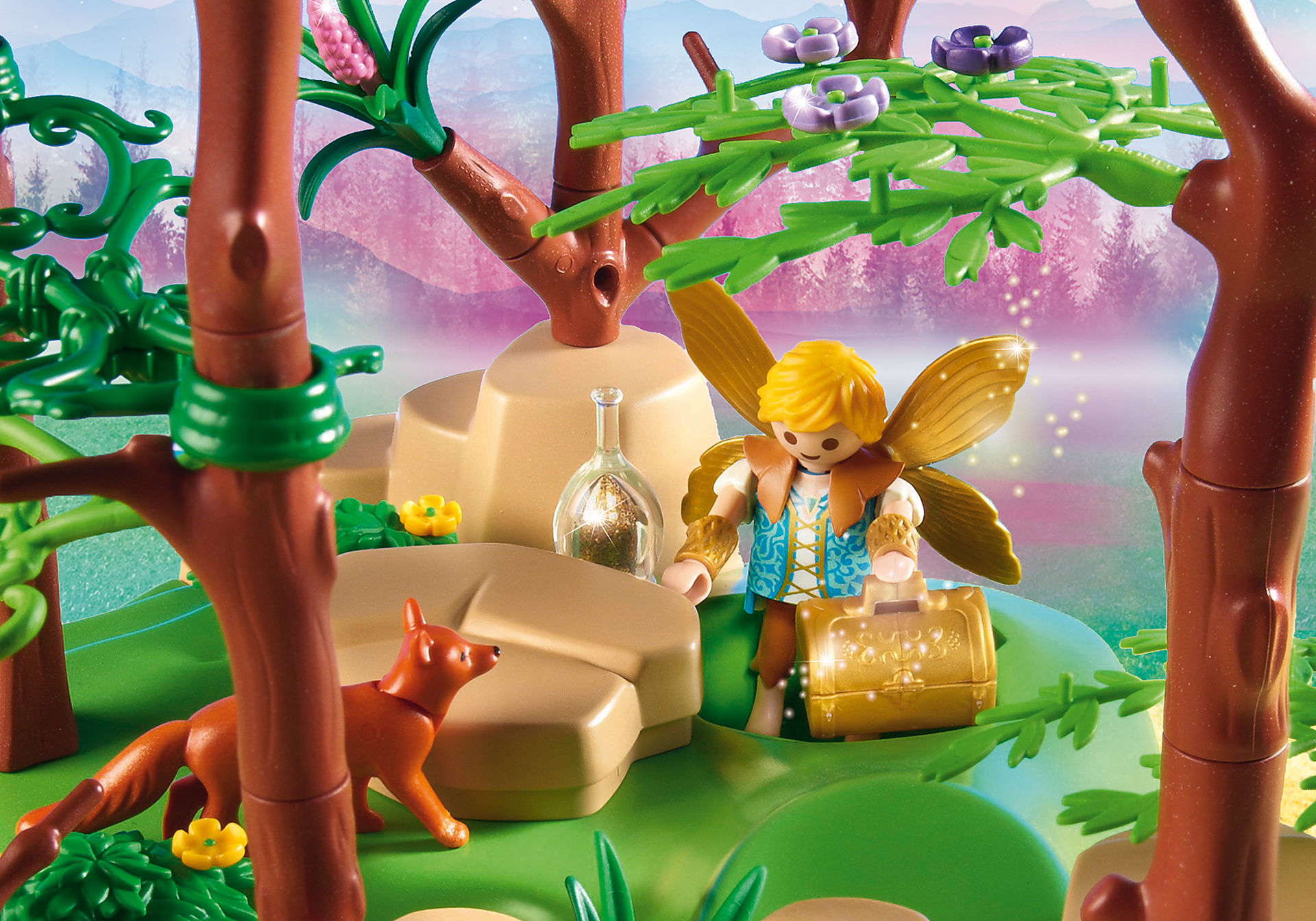 http://media.playmobil.com/i/playmobil/9132_product_extra2/Magical Fairy Forest