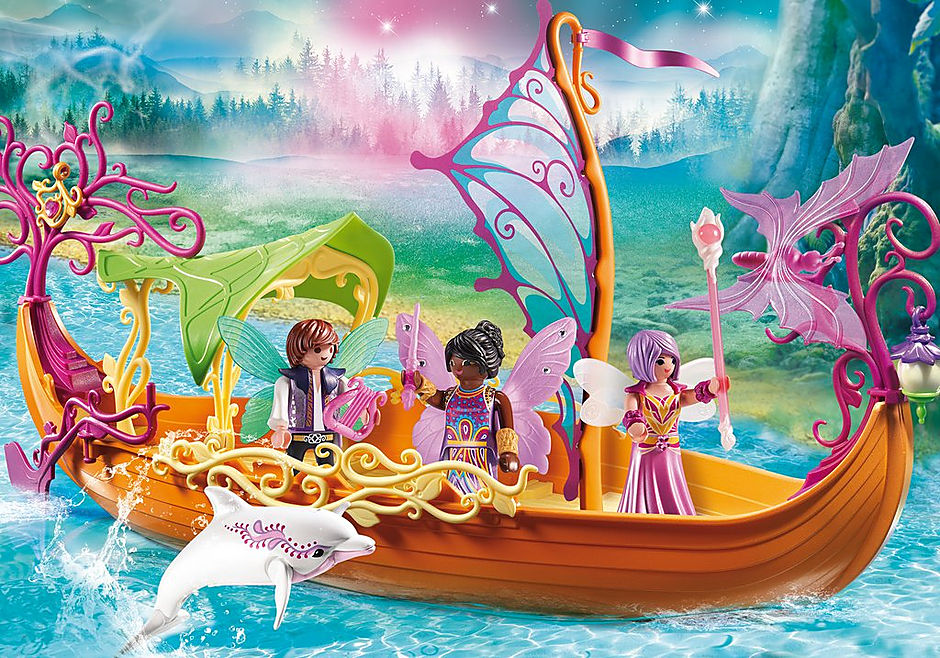 9133 Enchanted Fairy Ship detail image 1