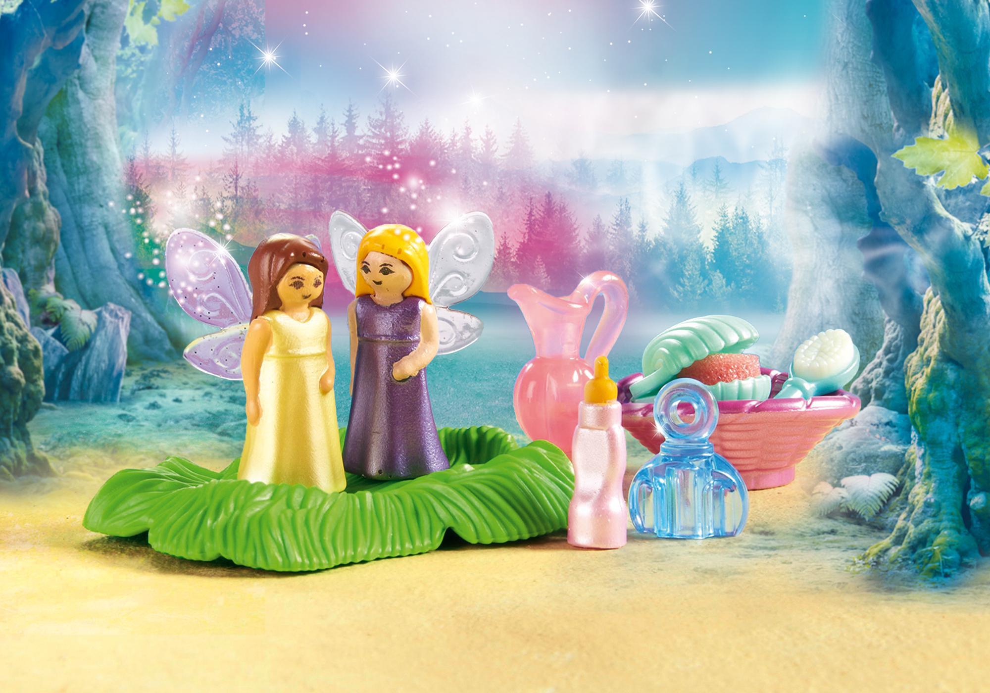 http://media.playmobil.com/i/playmobil/9135_product_extra1/Świeciący kwiat dzieci wróżek