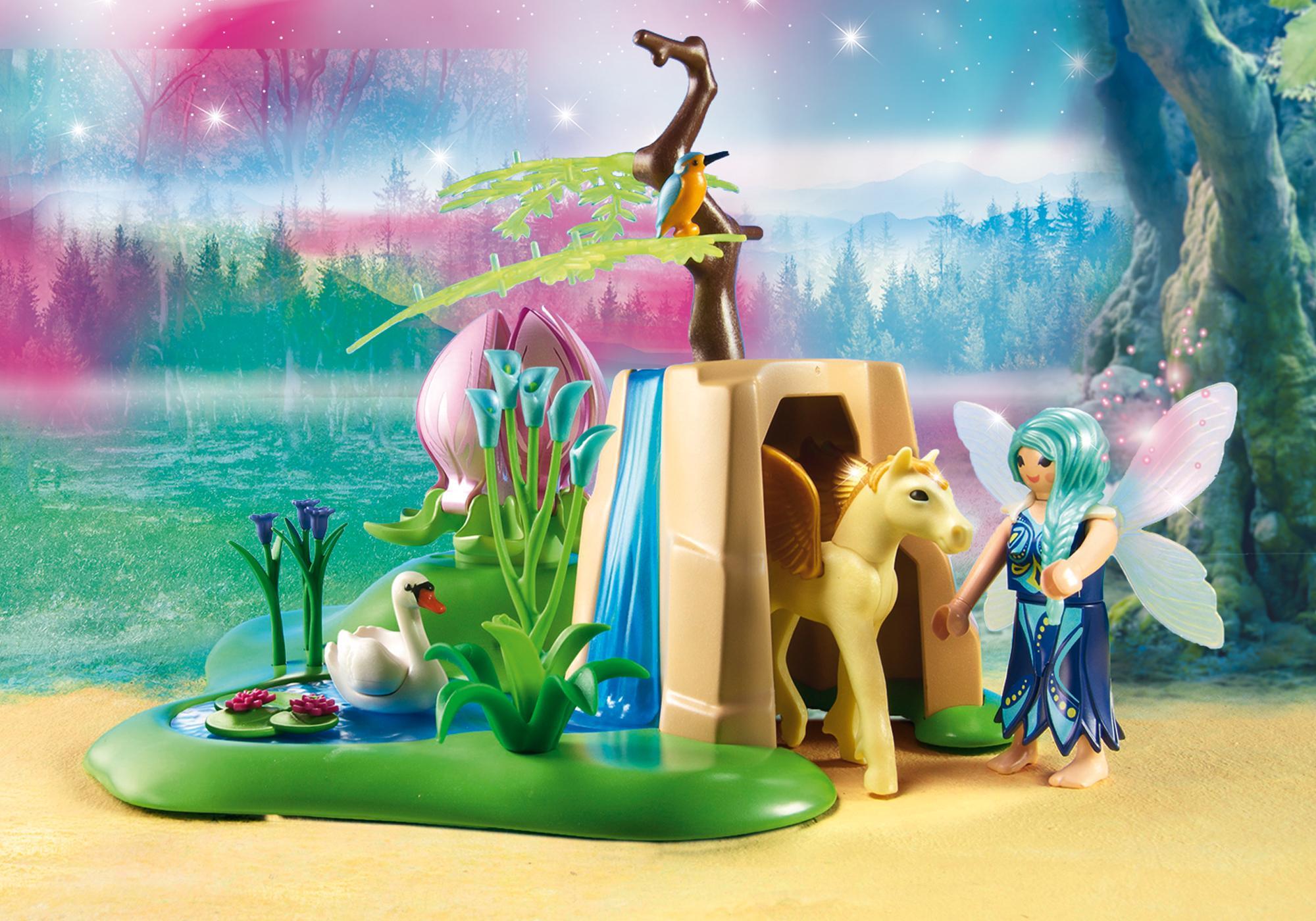 http://media.playmobil.com/i/playmobil/9135_product_extra2/Świeciący kwiat dzieci wróżek
