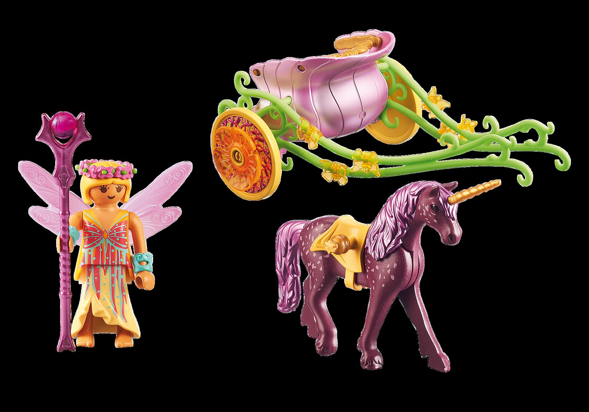 9136 Unicorn-Drawn Fairy Carriage zoom image4