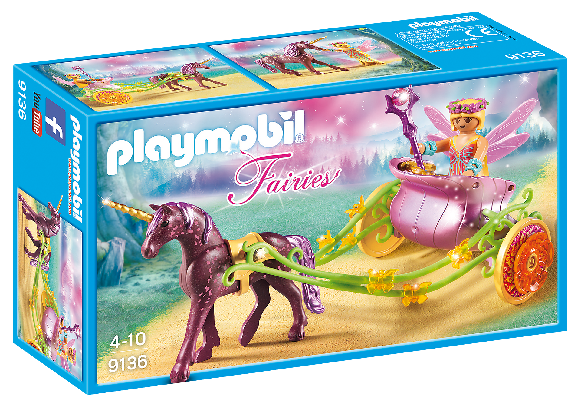 http://media.playmobil.com/i/playmobil/9136_product_box_front/Νεραϊδοάμαξα με μονόκερο