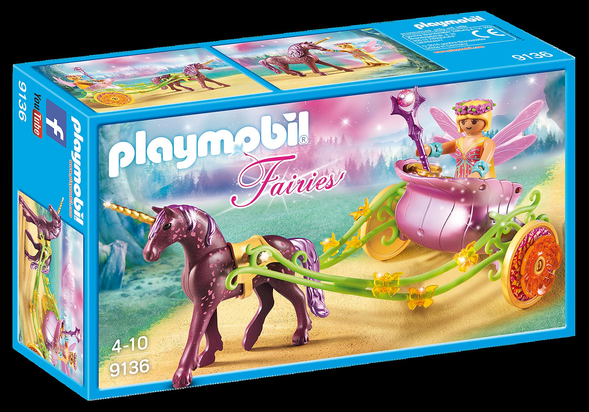http://media.playmobil.com/i/playmobil/9136_product_box_front/Wróżka kwiatów z karocą jednorożca