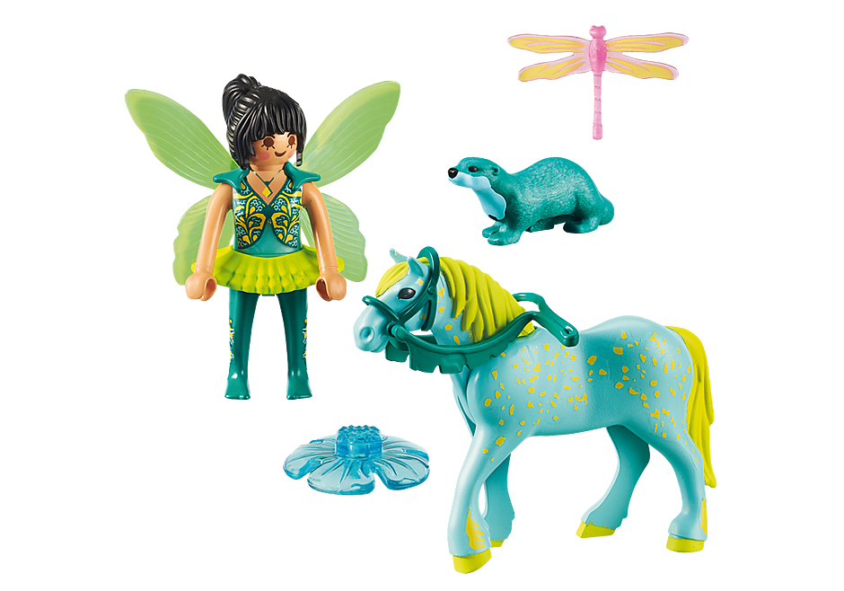 9137 Enchanted Fairy with Horse detail image 4