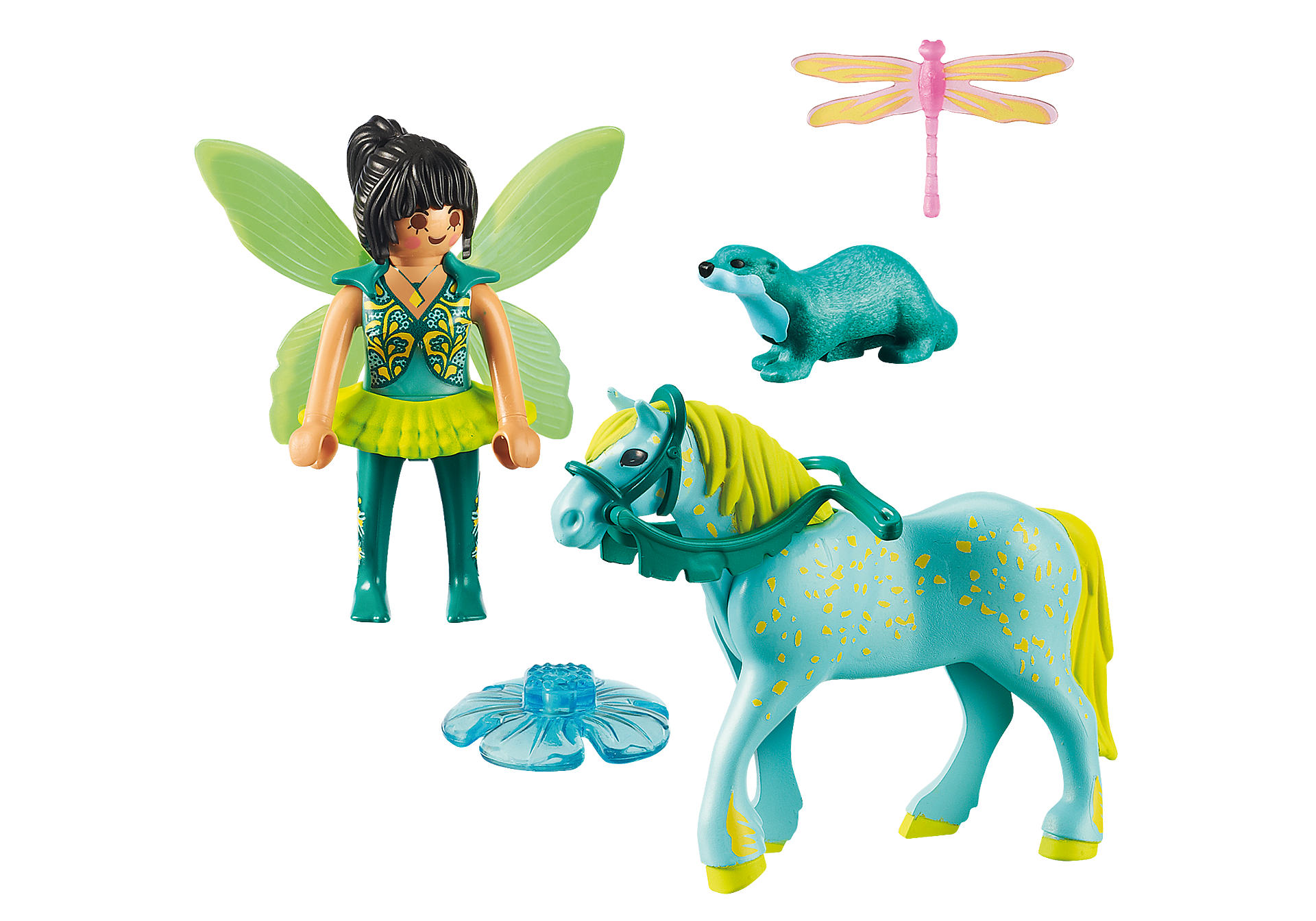 9137 Enchanted Fairy with Horse zoom image4